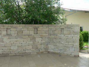 Strauchliebe Sichtschutz Mauer